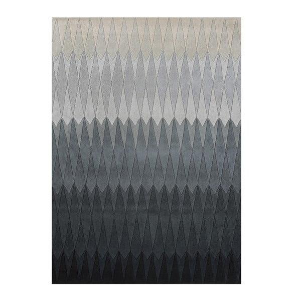 Vlnený koberec Acacia Grey, 170x240 cm