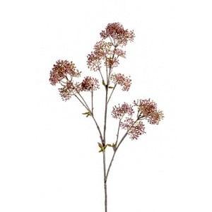 Umelá kvet Skimmie, ružová