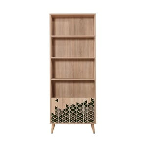 Knižnica Booki Green, 198×75 cm