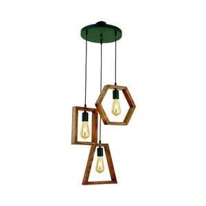 Závesné svietidlo z hrabového dreva Simetri