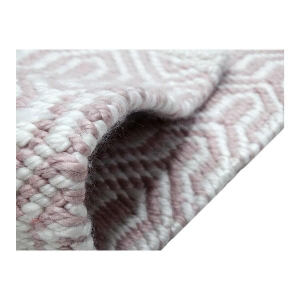 Sivo-ružový koberec Kayoom Spring, 160x230cm