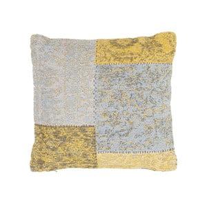 Vankúš Jacquard Gold, 45x45 cm