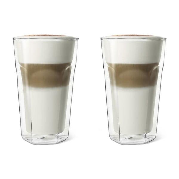 Sada 2 dvojstenných pohárov Bredemeijer Latte Macchiato, 350 ml