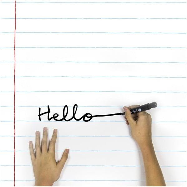Popisovacia samolepka Notebook