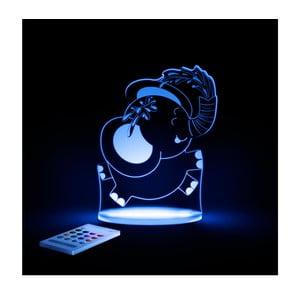 Detské LED nočné svetielko Aloka Elephant