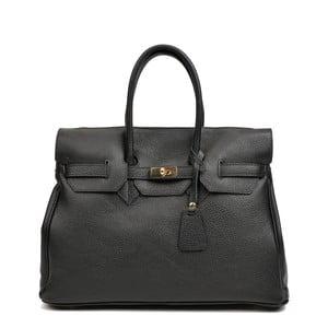 Čierna kožená kabelka Roberta M Alice Maria