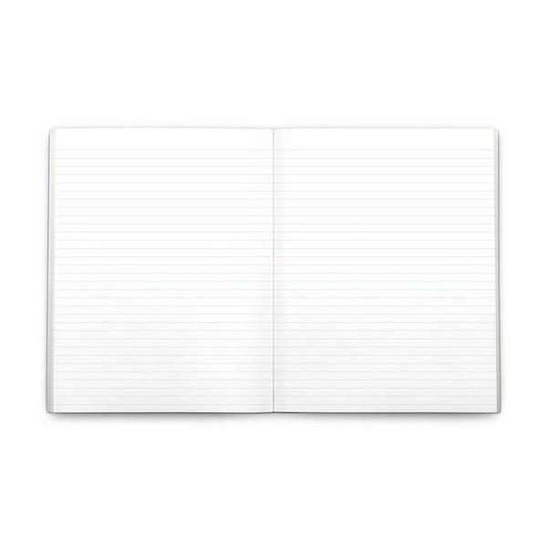 Zápisník Plumb, strieborný