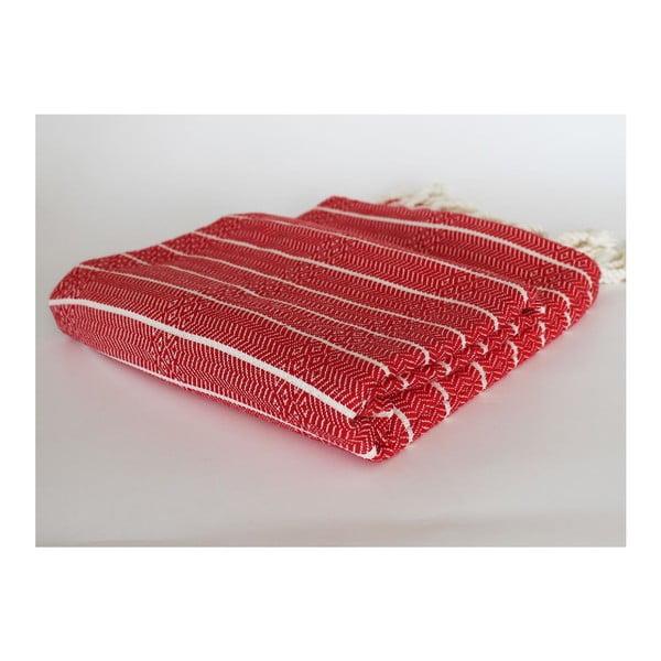 Peshtamal Gocek Red, 100x175 cm