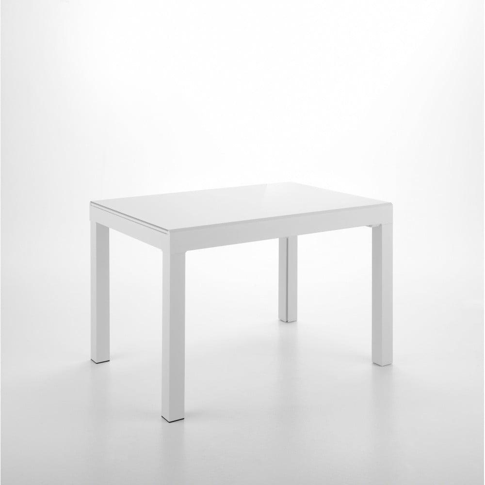 Biely rozkladací jedálenský stôl Design Twist Jeddah