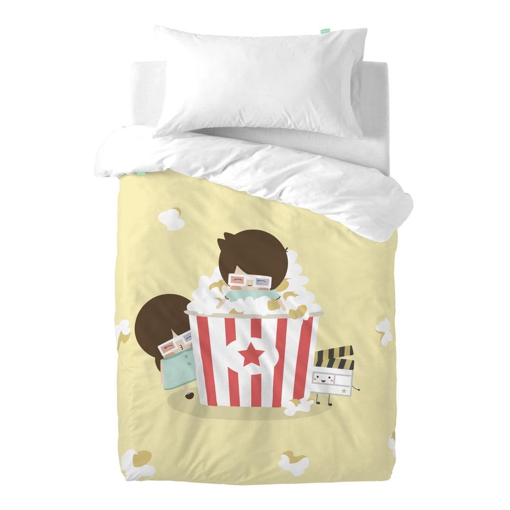 Obliečky z čistej bavlny Happynois Pop Corn, 100 × 120 cm
