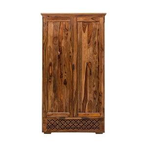 Skriňa z masívneho palisandrového dreva Massive Home Rosie, 120 x 200 cm