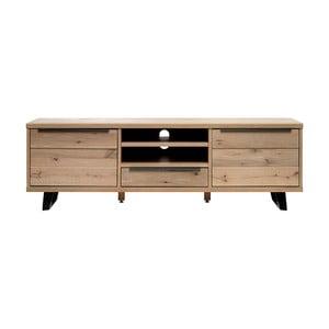 TV stolík z dreva bieleho duba Unique Furniture Novara