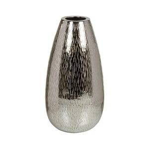 Váza v striebornej farbe Santiago Pons Bright