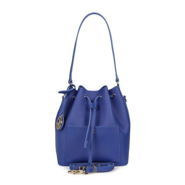 Modrá kabelka z eko kože Beverly Hills Polo Club Sophia