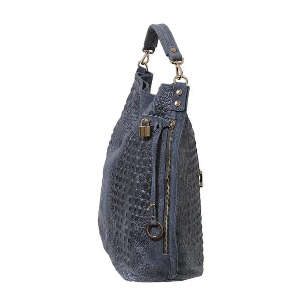 Sivá kožená kabelka Andrea Cardone 2001