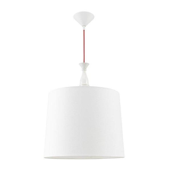 Stropné svetlo Katania, biele