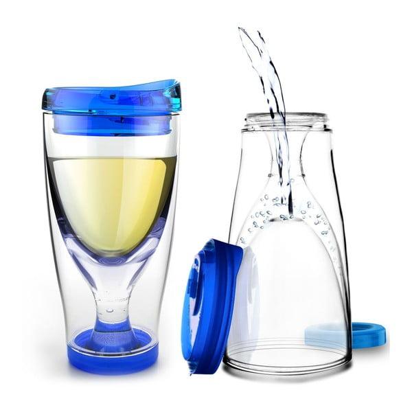 Termoska Ice Vino 2GO, modrá