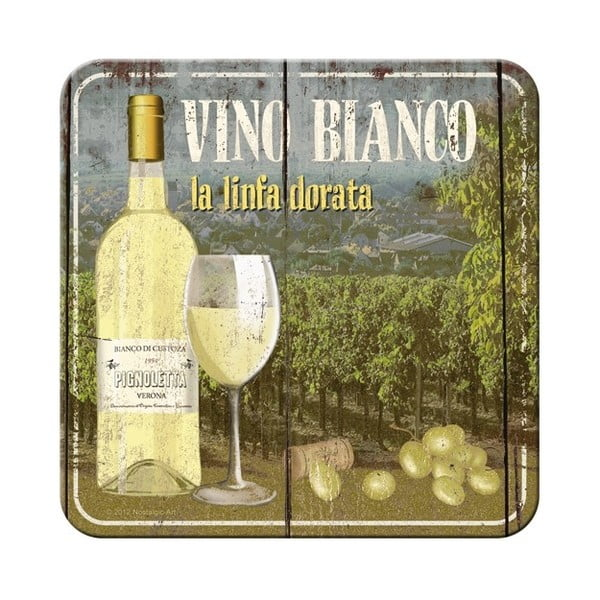 Sada 5 podložiek Postershop Vino Bianco