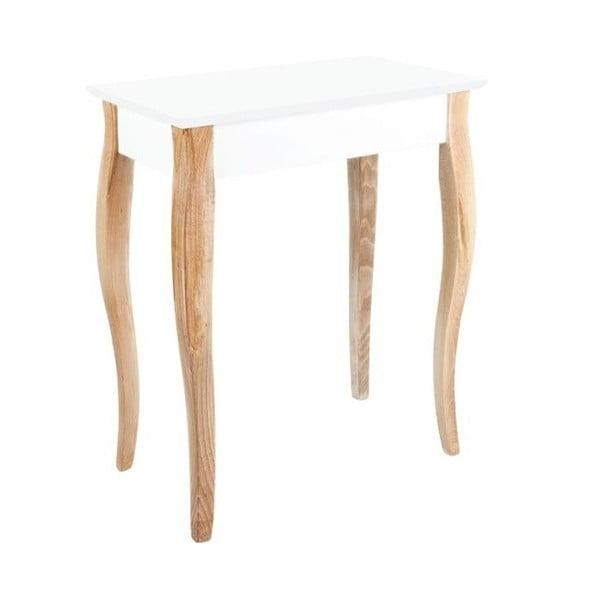 Konzolový stolík Dressing Table 65x74 cm, biely