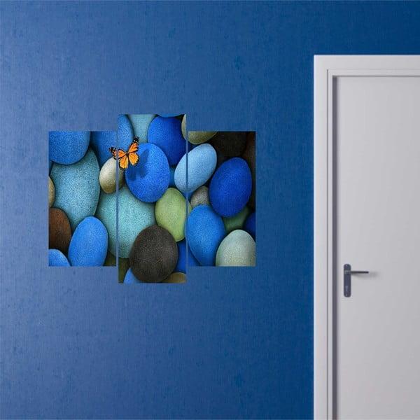 3-dielny obraz Stones
