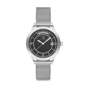 Dámske hodinky ve striebornej barve Santa Barbara Polo & Racquet Club Cora