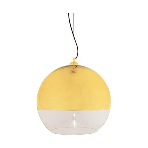 Závesné svietidlo Scan Lamps Lux Gold, ⌀45cm
