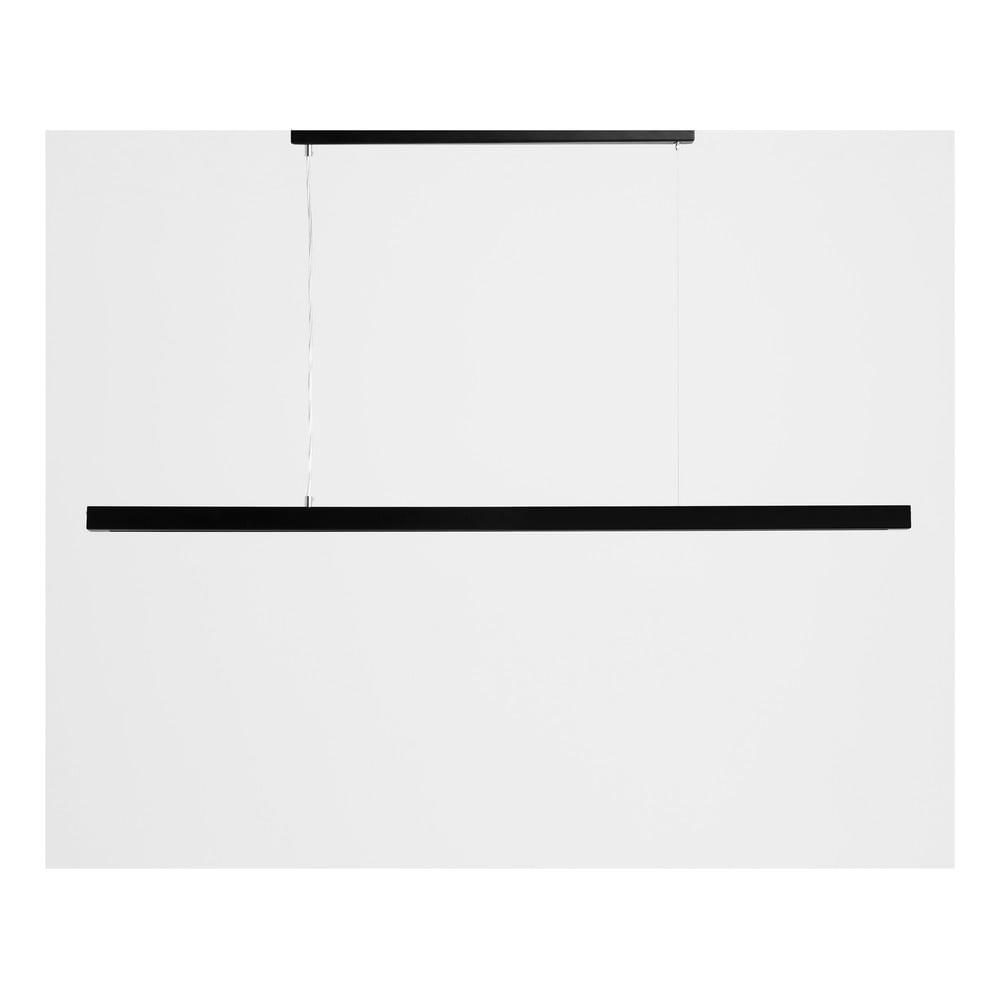 Čierne závesné svietidlo Custom Form Line Plus XL