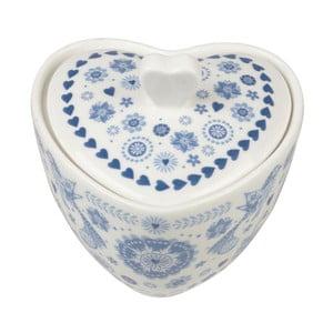 Cukornička Churchill China Penzance Heart, 180 ml