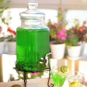 Sklenený barel na nápoje Sadabab