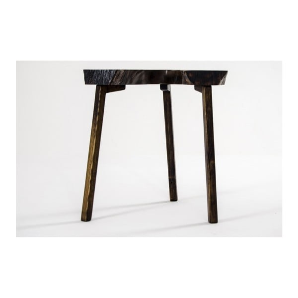 Odkladací stolík z orechového masívu Mbulu