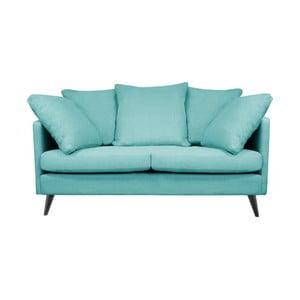 Modrá dvojmiestna pohovka Helga Interiors Victoria