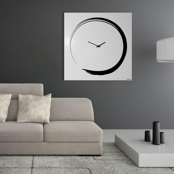 Nástenné hodiny Senso Clock White, 80x80 cm