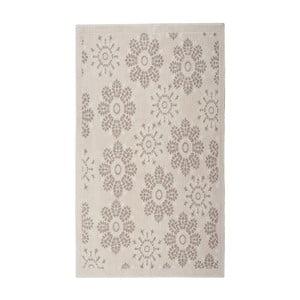 Krémový bavlnený koberec Floorist Randa, 120x180cm