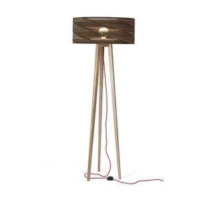 Kartonová stojacia lampa Cardlamp