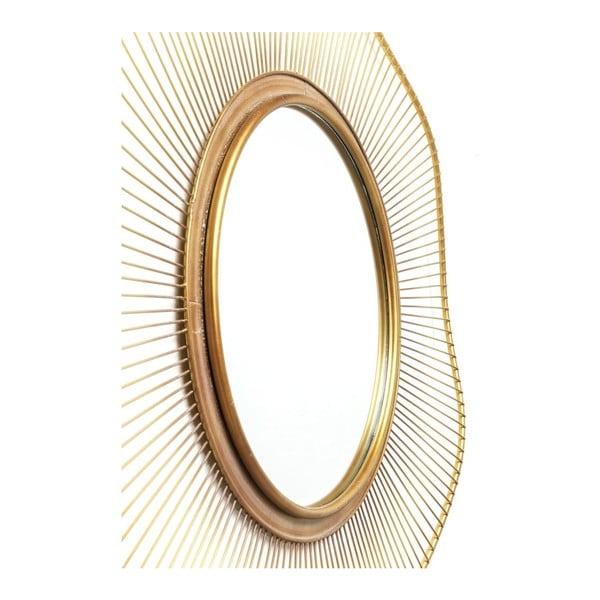 Nástenné zrkadlo Kare Design Sun Storm, Ø93cm