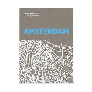 Mapa na poznámky Palomar Transparent City Amsterdam