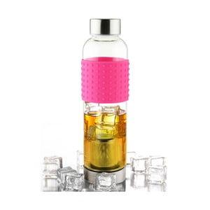 Ružová fľaša na ľadový čaj IT2GO 420 ml