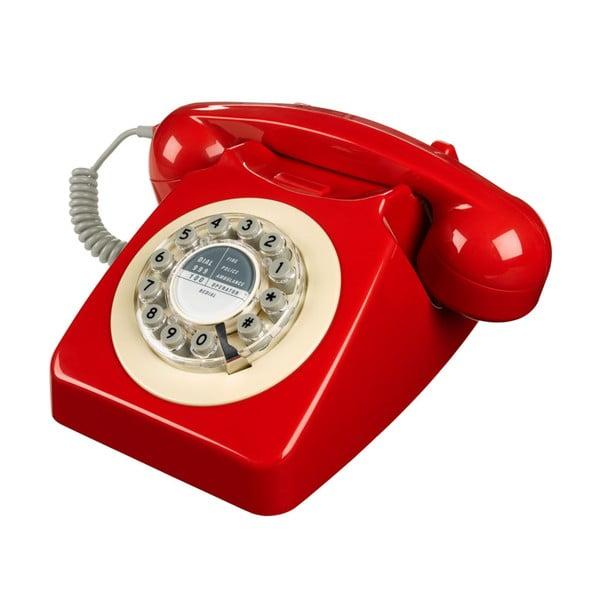 Retro funkčný telefón Serie 746 Red