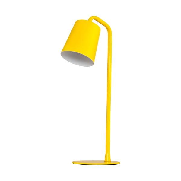 Stolná lampa Elias, žltá