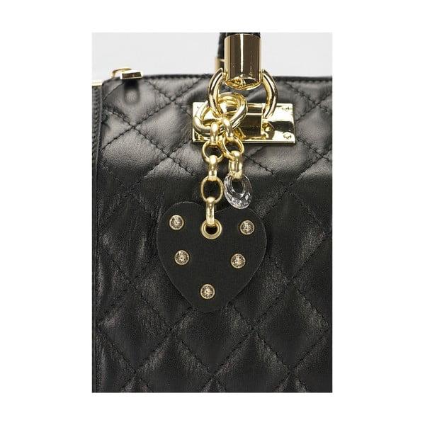 Kožená kabelka Giorgio Costa 15020 Black