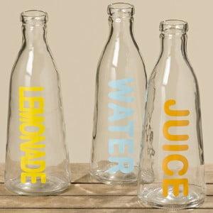 Sada 3 sklenených fliaš Boltze Drink