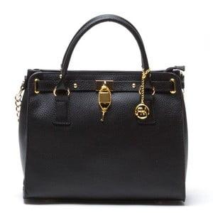 Kožená kabelka Rosella, čierna