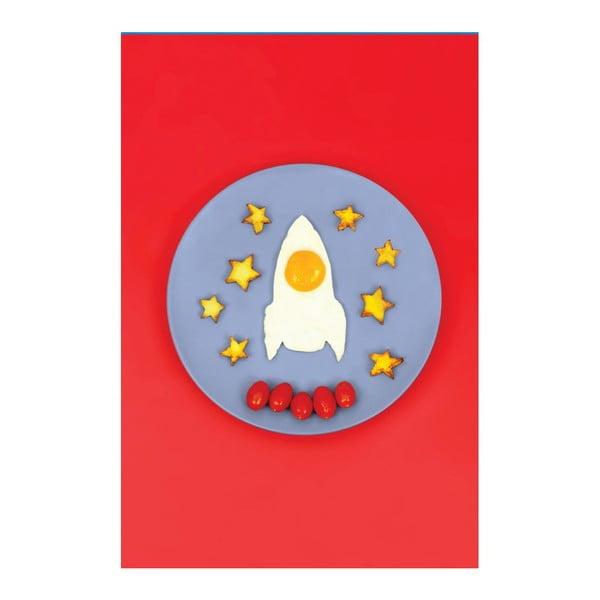 Formička na vajíčko Space Egg Rocket