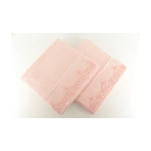 Sada 2 uterákov Lucas Pink, 50x90 cm
