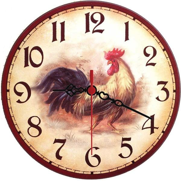 Nástenné hodiny Rooster, 30 cm