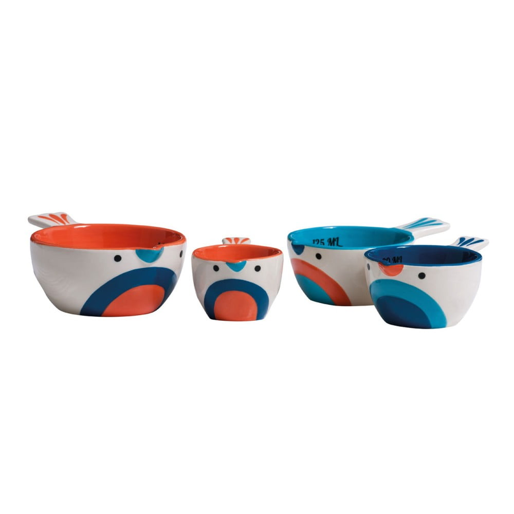 Sada 4 odmeriek Premier Housewares Pretty Things Birdy