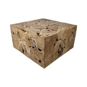 Konferenčný stolík z teakového dreva HSM Collection Mona