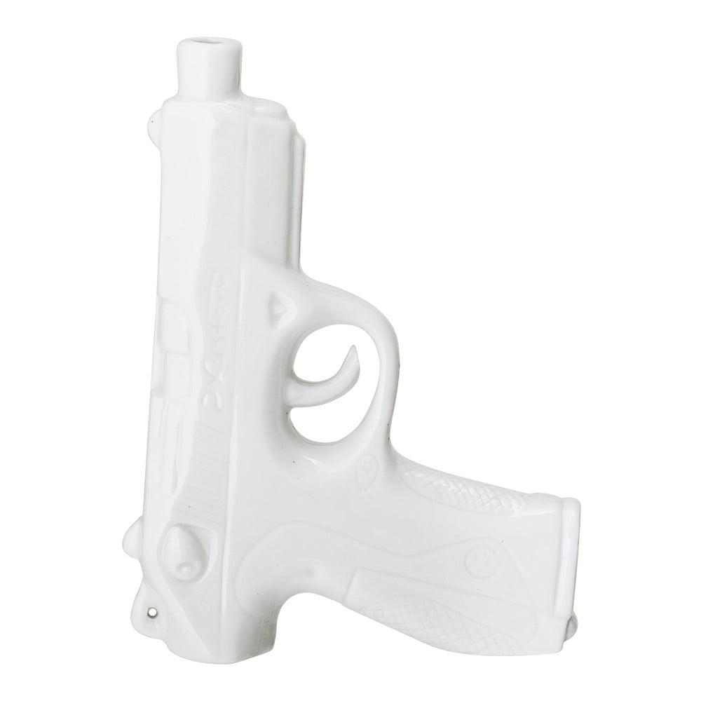 Biela porcelánová váza Bloomingville Weapon