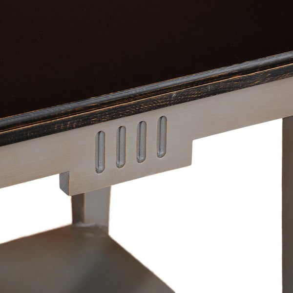 Kávový stolík Black Top Belgique Grey