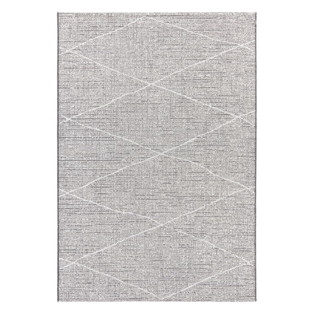 Antracitovobéžový koberec Elle Decor Curious Blois, 77 × 150 cm